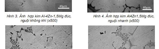 Ảnh hưởng đồng thời của các nguyên tố kim loại chuyển tiếp (Ti, Mn, Cr) đến tổ chức và nhiệt độ kết tinh lại của hợp kim nhôm biến dạng hệ Al-Zn-Mg