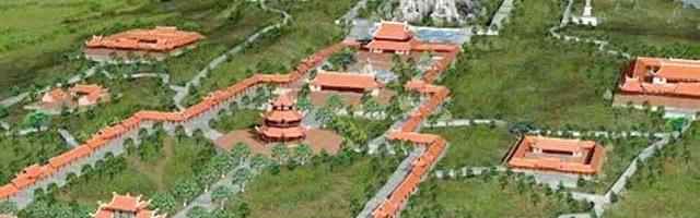 Chùa Bái Đính tỉnh Ninh Bình