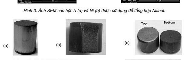 Chế tạo vật liệu Nitinol xốp bằng phương pháp phản ứng nhiệt tự lan truyền (SHS)