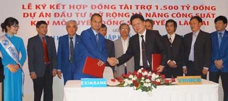 EXIBANK tài trợ 1.500 tỷ cho dự án đồng Sin Quyền