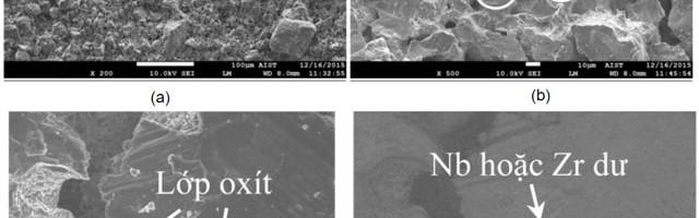 Nghiên cứu công nghệ chế tạo vật liệu xốpTiNb3Zr3 bằng phương pháp phân rã – thiêu kết