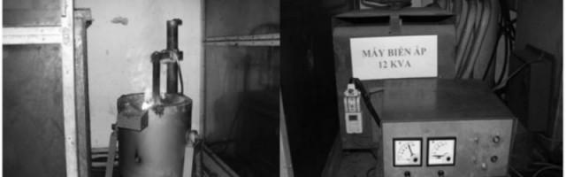 Thử nghiệm luyện lắng quặng tinh antimon vùng Hà Giang, Tuyên Quang trong lò điện hồ quang