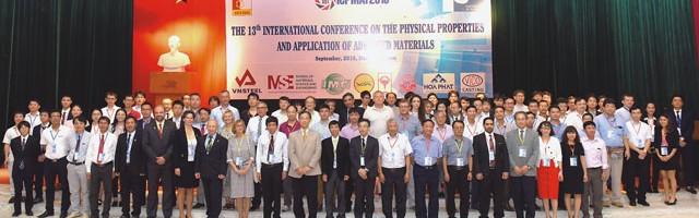 Hội thảo quốc tế về tính chất vật lý và ứng dụng vật liệu tiên tiến lần thứ 13 – ICPMAT2018